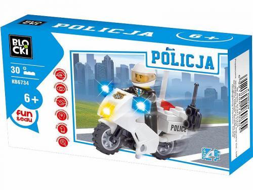 ICOM Klocki Blocki - Policja 30 el. (KB6734)