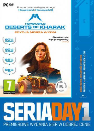 Seria Day1: Homeworld: Deserts of Kharak