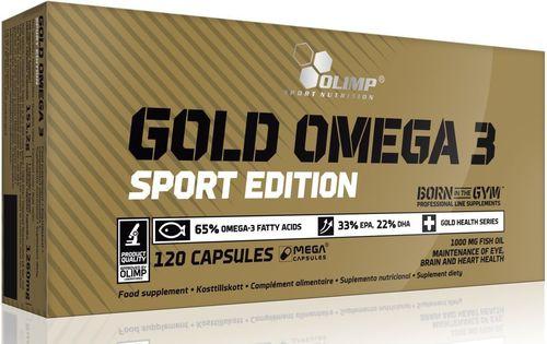 Gold Omega-3 Sport Edition 120 Olimp  roz. uniw (030581)