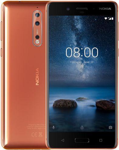 Smartfon Nokia 8 64GB COPPER (11NB1M01A06)