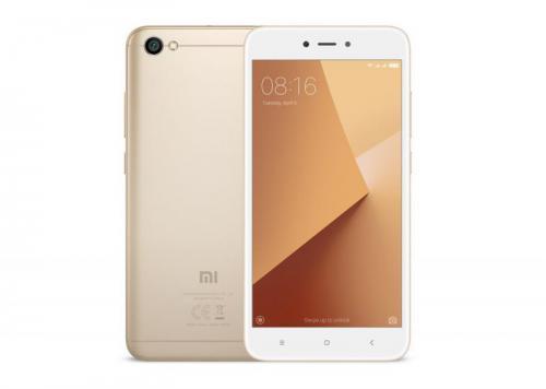 Smartfon Xiaomi Redmi Note 5A 16GB Złoty !OFICJALNA POLSKA DYSTRYBUCJA!