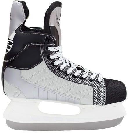 NILS Extreme Łyżwy hokejowe Nils Extreme black/grey r. 38 (NH8552S)