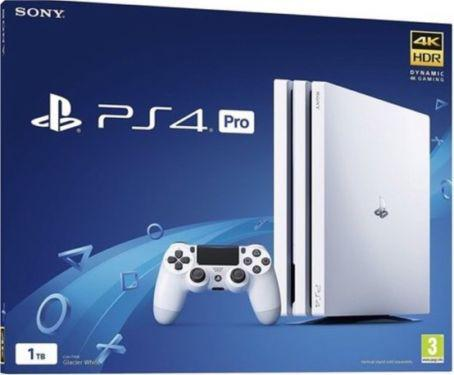 Konsola Sony Playstation 4 Pro 1TB Biała (CUH-7116B)