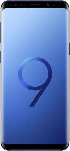 Smartfon Samsung Galaxy S9 Coral Blue - Niebieski (SM-G960FZBDXEO)