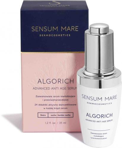 Sensum Mare ALGORICH zaawansowane serum rewitalizujące i przeciwzmarszczkowe cera sucha i bardzo sucha 35 ml