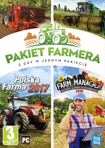 Pakiet farmera: Farm Manager 2018 + Polska Farma 2017