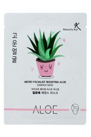 Beauty Kei Maseczka na płacie kojąco-nawilżająca Aloe 1szt