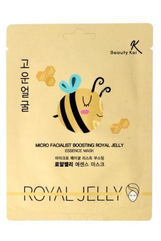 Beauty Kei Maseczka na płacie odżywcza Royal Jelly 1szt (932608)