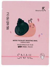 Beauty Kei Maseczka na płacie z dodatkiem śluzu ślimaka Snail 1szt (932585)