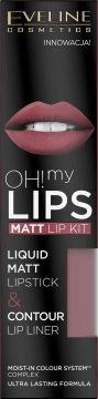 Eveline Oh!my LIPS  06 Cashmere Rose