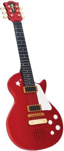 Simba Gitara rockowa czerwona - 106837110b