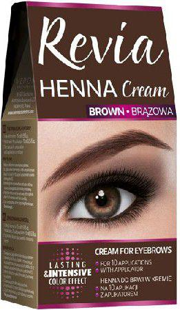 Verona Revia Henna do brwi w kremie Brązowa 15 ml