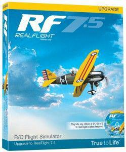 Great Planes Upgrade Symulatora Realflight 7.5 - dla wersji G4 i wyższych