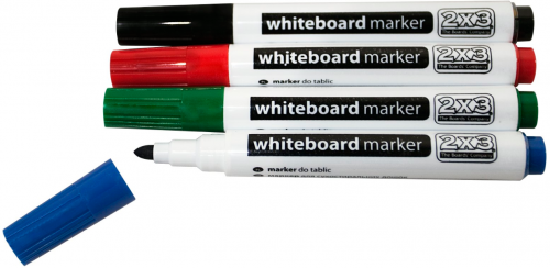 VivoLink Whiteboard Marker 4 colours - VLAS104