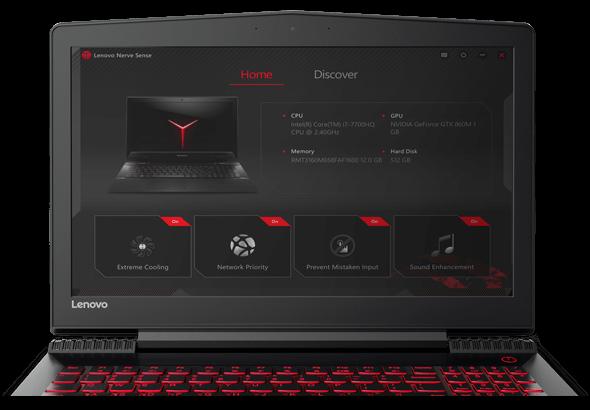 Ekran Lenovo Y520