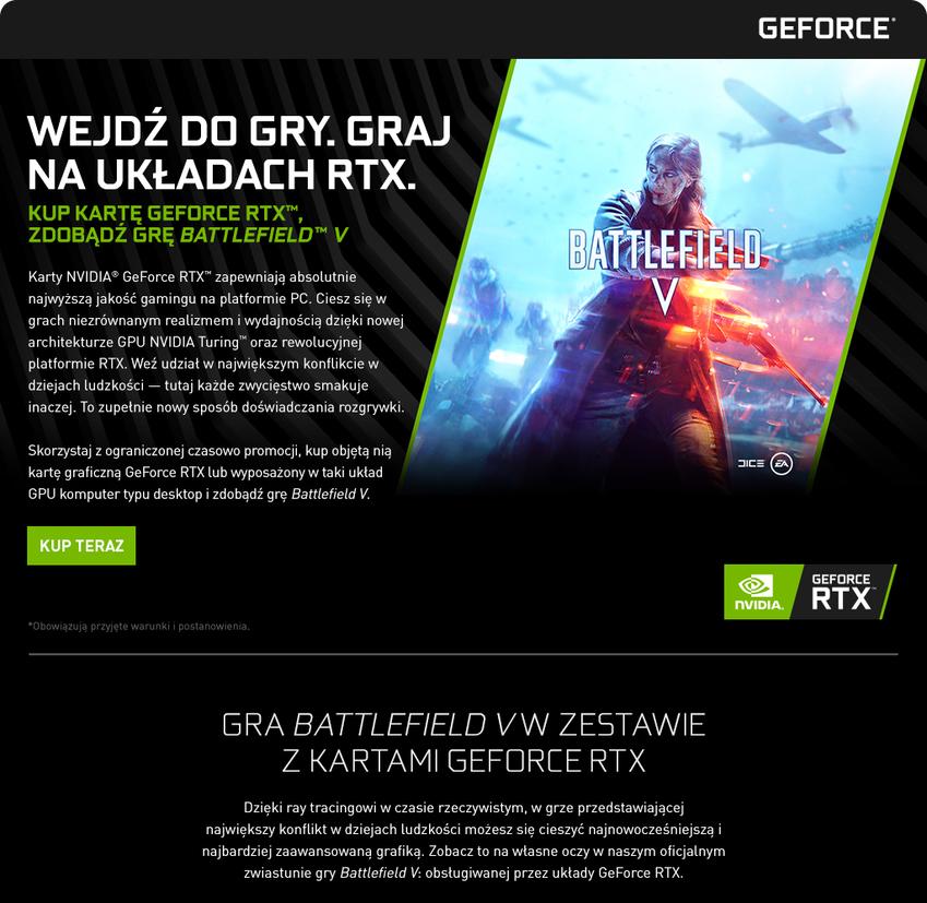 8aa6b8539a1cf Kup kartę graficzną GeForce RTX™ i zdobądź grę Battlefield ™ V ...
