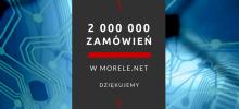 Morele.net zrealizowało ponad dwa miliony zamówień!
