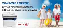 Kup Xerox WorkCentre 3225 i odbierz 100zł natychmiastowego cashbacku!
