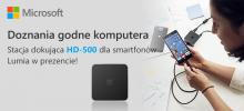 Odbierz stację dokująca HD-500 za darmo
