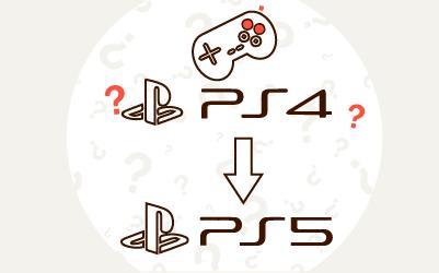 Czy gry z PS4 działają na PS5?