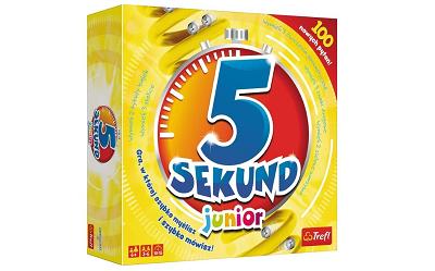 Gra towarzyska 5 sekund – instrukcja jak grać? Którą wersję kupić?