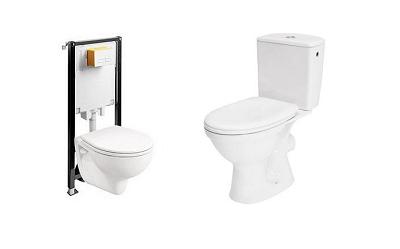 Stelaż podtynkowy czy kompakt WC - co lepsze?