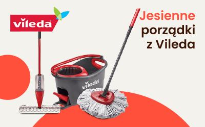 Przygotuj się na jesienne porządki z produktami marki Vileda