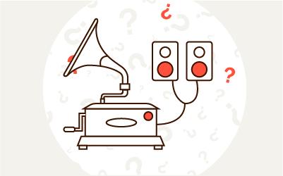 Jak podłączyć gramofon do głośników?