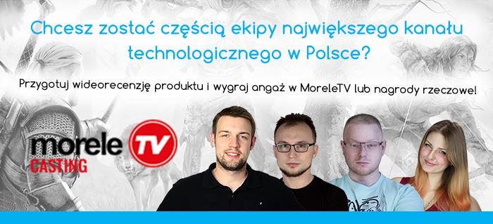 Weź udział w Castingu i zdobądź angaż w Morele TV oraz atrakcyjne nagrody
